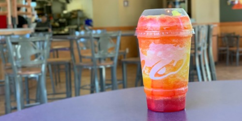 Taco Bell Debuts Cherry Sunset Freeze | Available For Limited Time Only