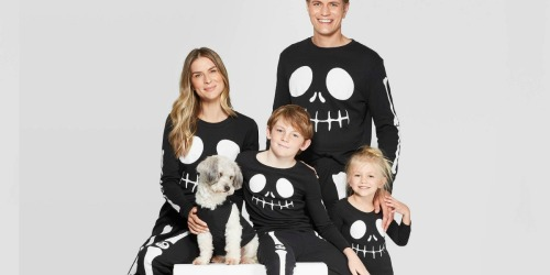 Target is Selling Matching Halloween Pajamas for the Whole Family (Dogs Included)!