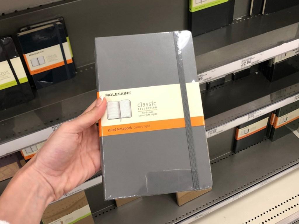 Target Moleskine Notebook
