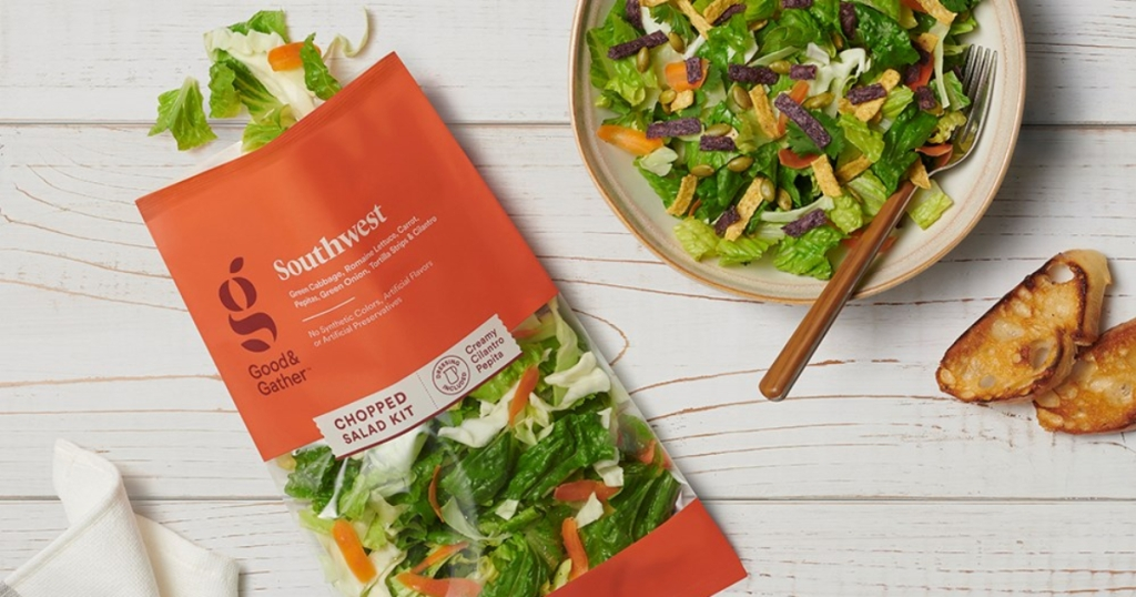 Target Good & Gather salad kit