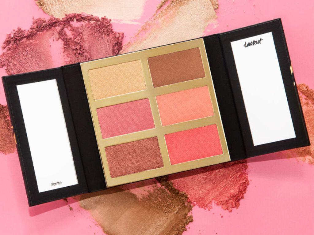 Tarteist PRO Glow & Blush set with pink background