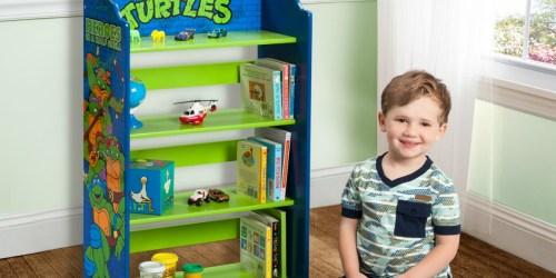 Delta Children Teenage Mutant Ninja Turtles Wood Bookshelf Just $19.98 at Walmart (Regularly $40)