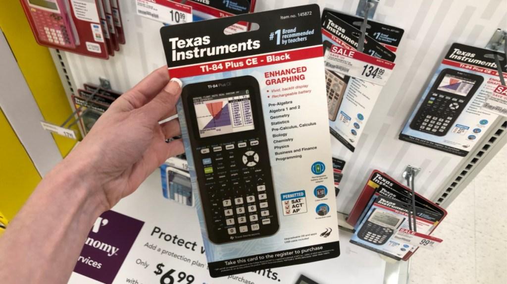 Texas Instrument Graphing Calculators