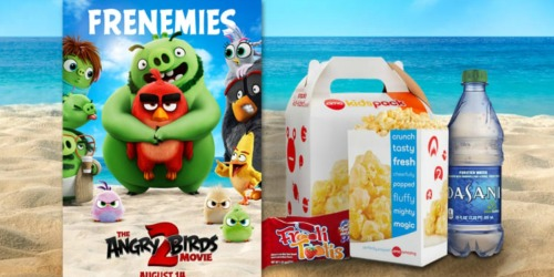 FREE AMC Theaters KidsPack w/ Angry Birds 2 Ticket Purchase | Includes Popcorn, Drink & More