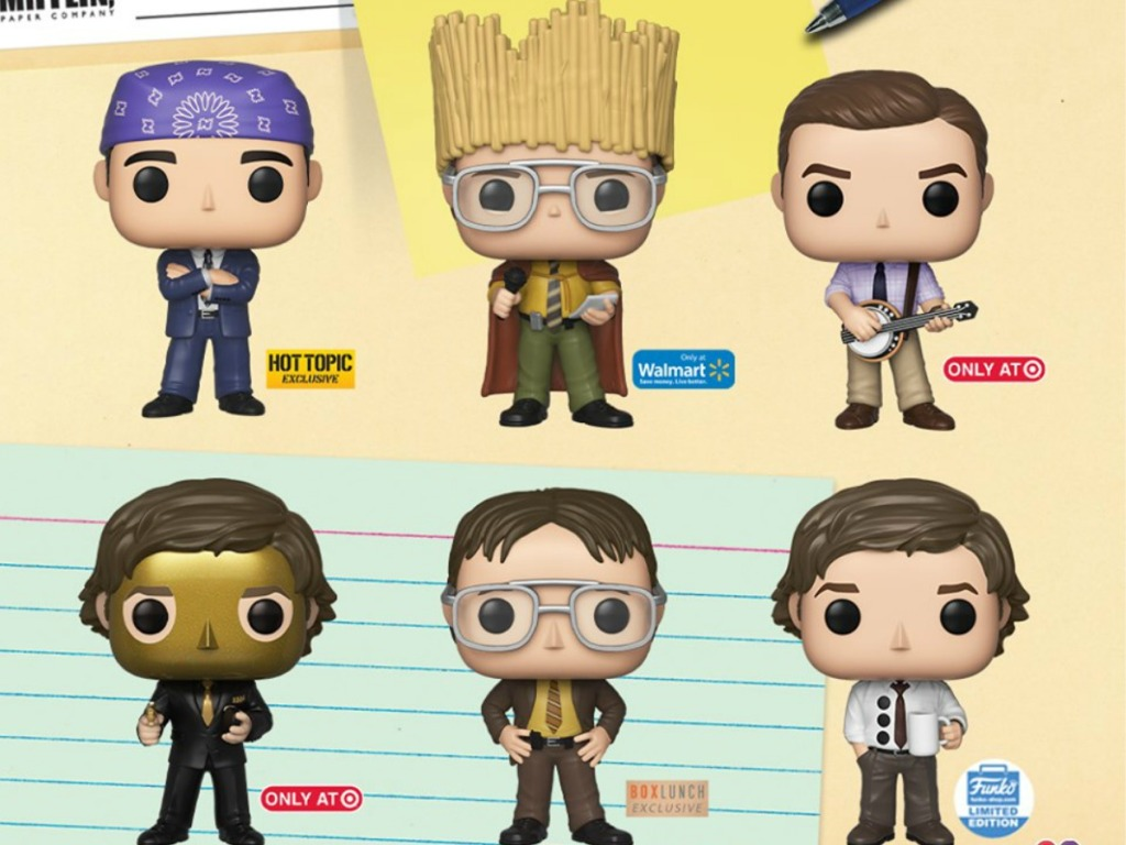The Office Funko Pop Exclusives