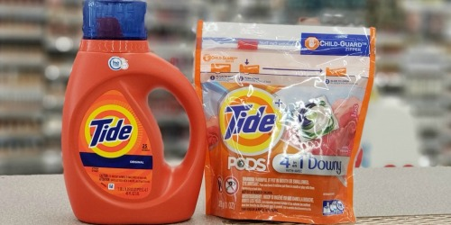 Tide Liquid Detergent or Pods Only $2.69 Shipped on Walgreens.com (Regularly $7)