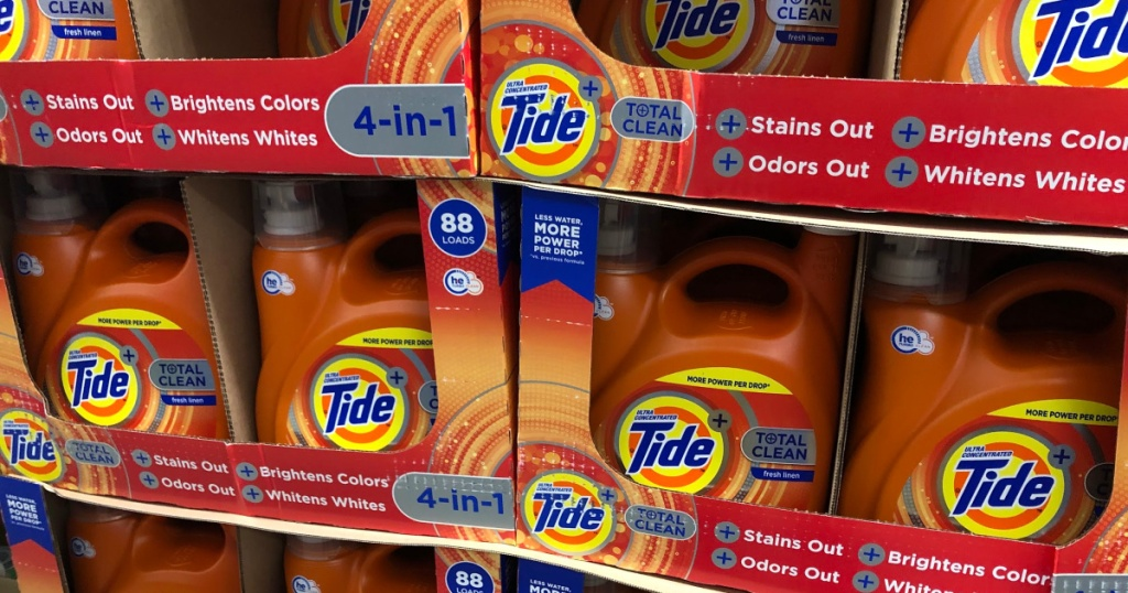 Tide Total Clean Detergent
