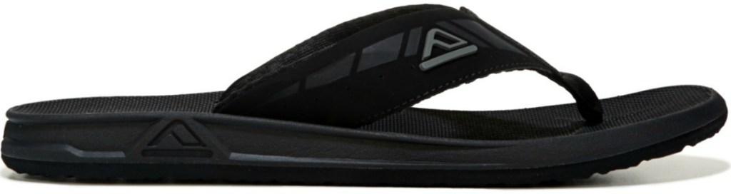 black reef sandals