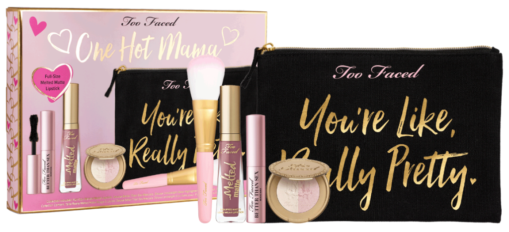 Too Faced One Hot Mama Set Ultimate On-The-Go Makeup Collection