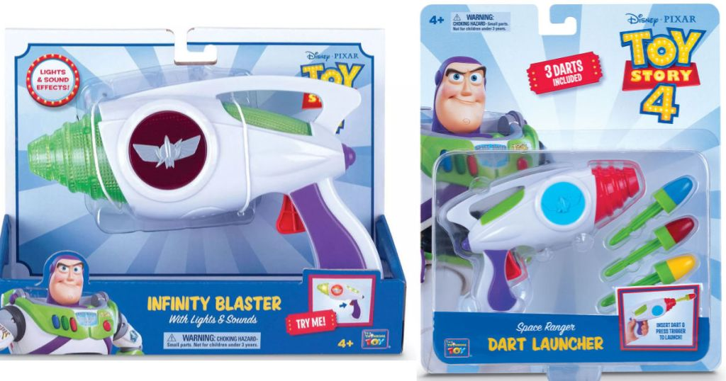 Toy story infinity blaster and dart launcher