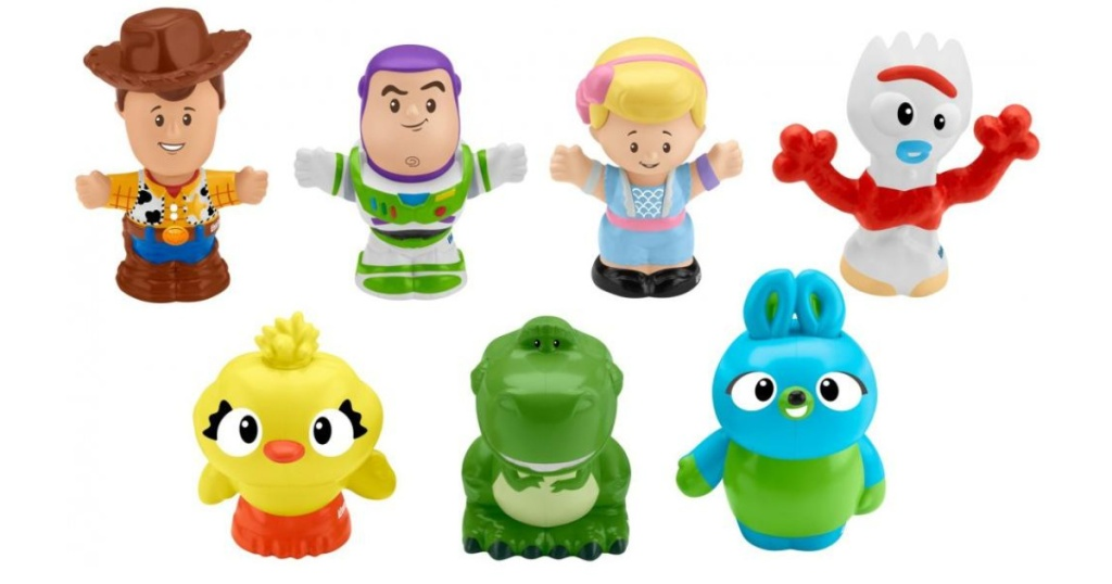 7 toy story little people figures