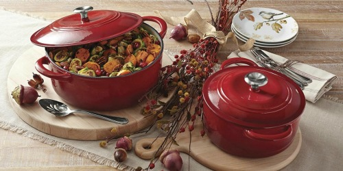 TWO Tramontina Cast-Iron Dutch Ovens Only $39.98 Shipped