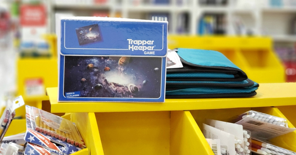 trapper keeper game box