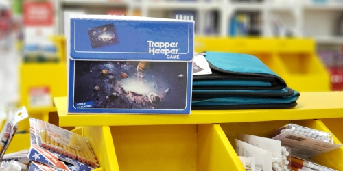 New Trapper Keeper Game Available Exclusively at Target Stores | Flashback to the '80s