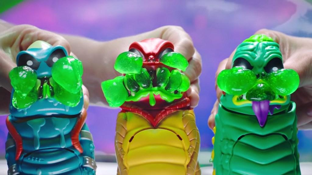 monster toys oozing slime