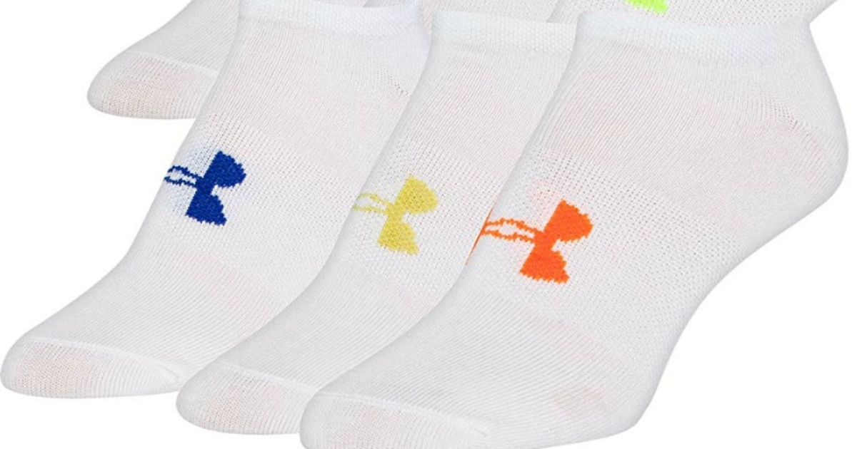 Under Armour socks in white
