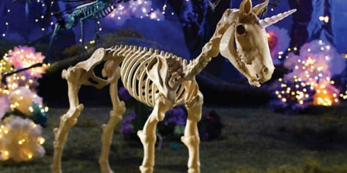 This Unicorn Skeleton is the Next Must-Have Halloween Decoration