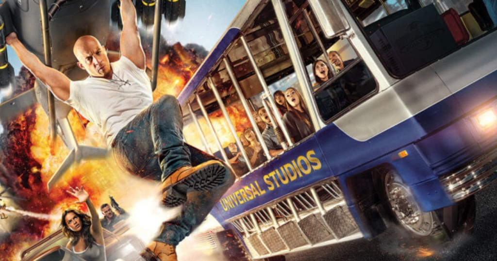 Universal Studios Bus Tour