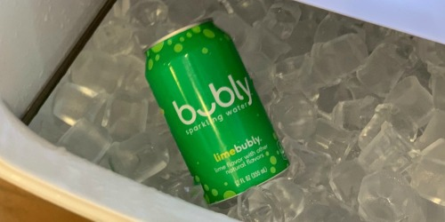 TWO bubly Sparkling Water 18-Packs Only $6.85 Shipped at Amazon (Just 19¢ Per Can)