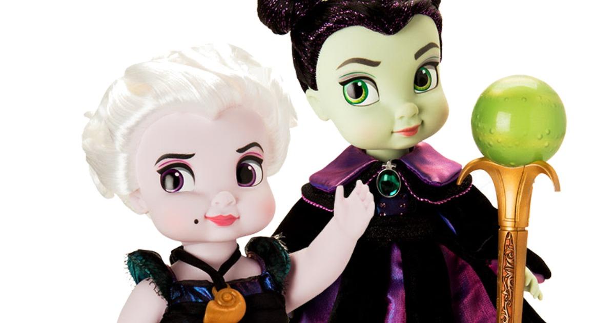 Disney Animators Collection Ursula Amp Maleficent Dolls