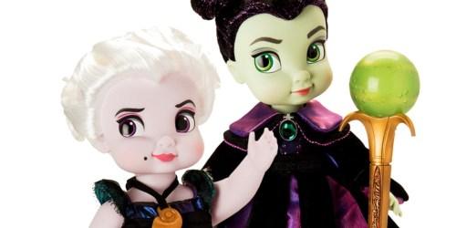 Love Disney Villains? Ursula & Maleficent Disney Animators' Collection Dolls Arrive at shopDisney Soon