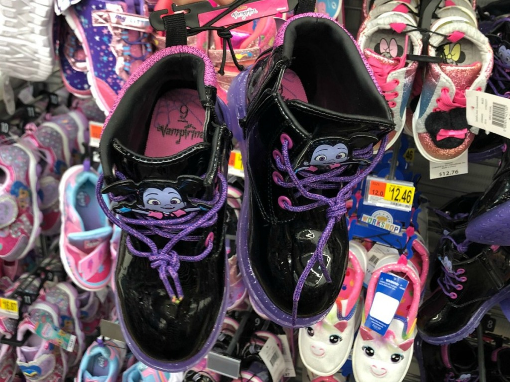 Vampirina Boots at walmart