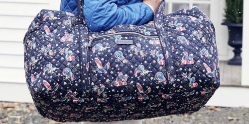 Up to 80% Off Vera Bradley Duffel Bags, Totes, Stockings & More + Free Shipping