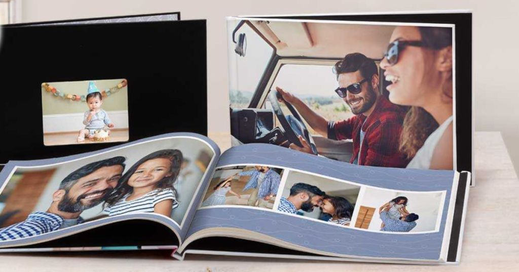 Three walgreen photo books
