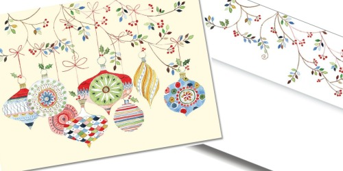 Watercolor Holiday Cards 20-Count Box Only $2.74 on Amazon (Regularly $11)