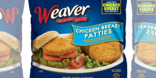 Tyson Recalls Weaver Chicken Patties Due to Possible Foreign Matter Contamination