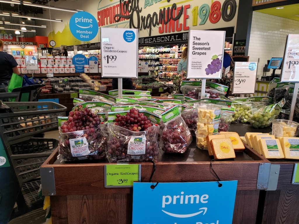 Whole Foods in Organic Seedless Grapes