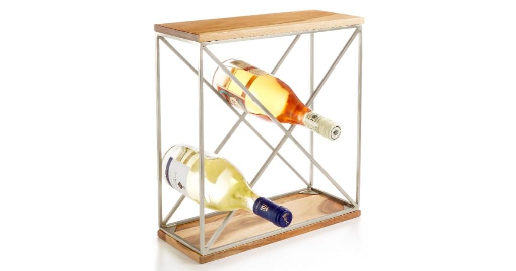 martha stewart wine rack