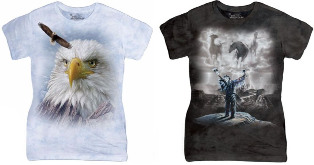 The Mountain Eagle and Horses tee
