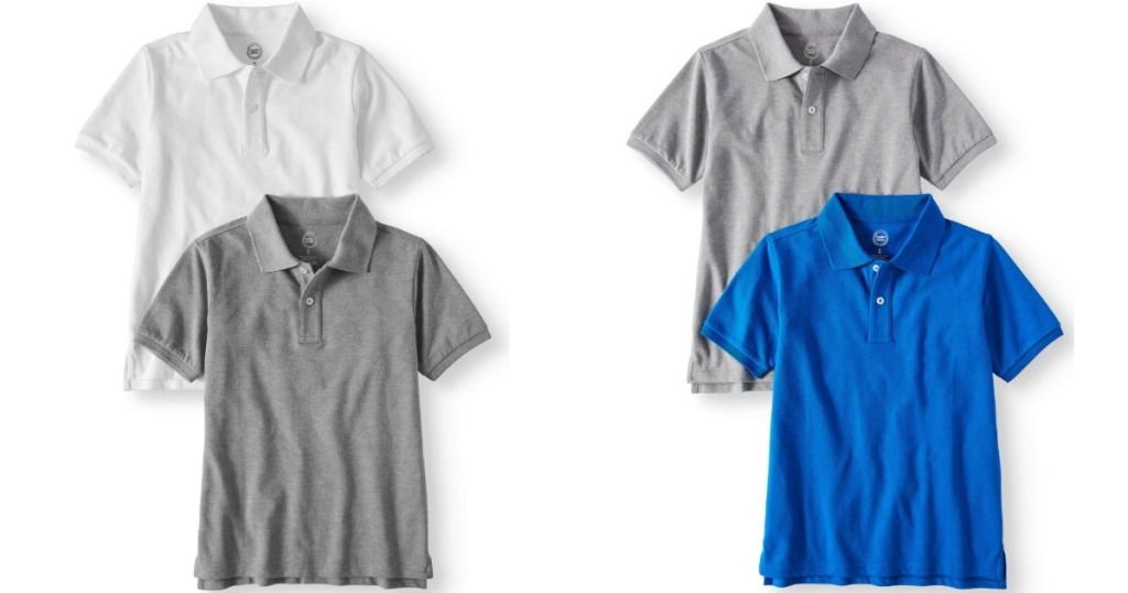 Wonder Nation Polo Shirt Sets