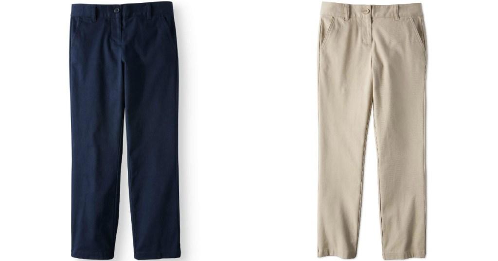 Wonder Nation Uniform Pants