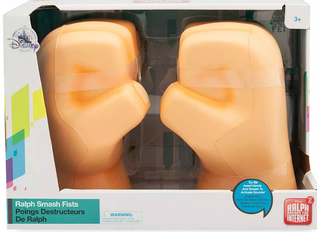 Wreck it Ralph Fists from Disney store