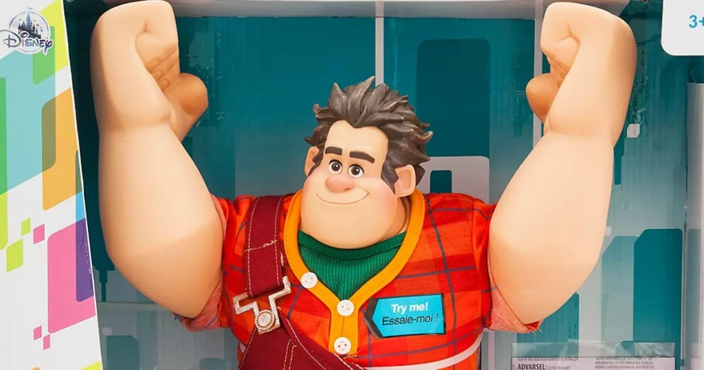 Wreck-it-Ralph Disney movie character action figure in package