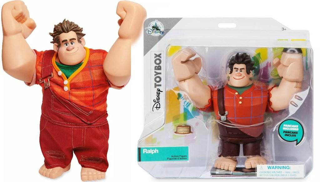 Disney Store Action Figures Ralph character