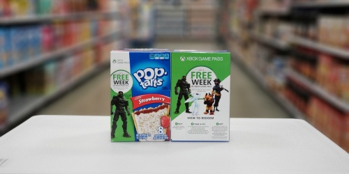 FREE Xbox Game Passes When You Buy Kellogg's Products