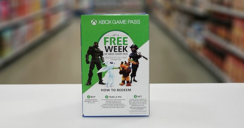 FREE Xbox Game Passes When You Buy Kellogg's Products - Hip2Save