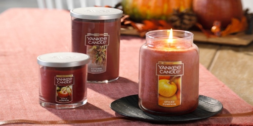Up to 85% Off Yankee Candle Fall Scents at Macy's