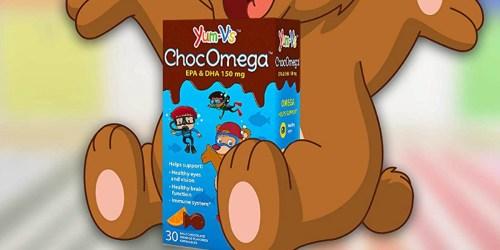 YumVs Chocolate Children's Vitamins Just $7 Shipped at Amazon | Helps w/ Brain Development