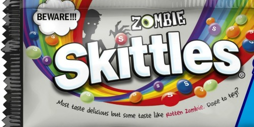 Zombie Skittles Will Be Traumatizing Trick-or-Treaters Everywhere This Halloween