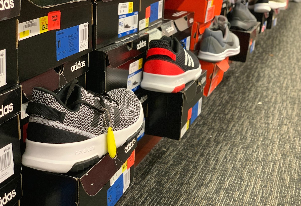 adidas sneakers at factory outlet