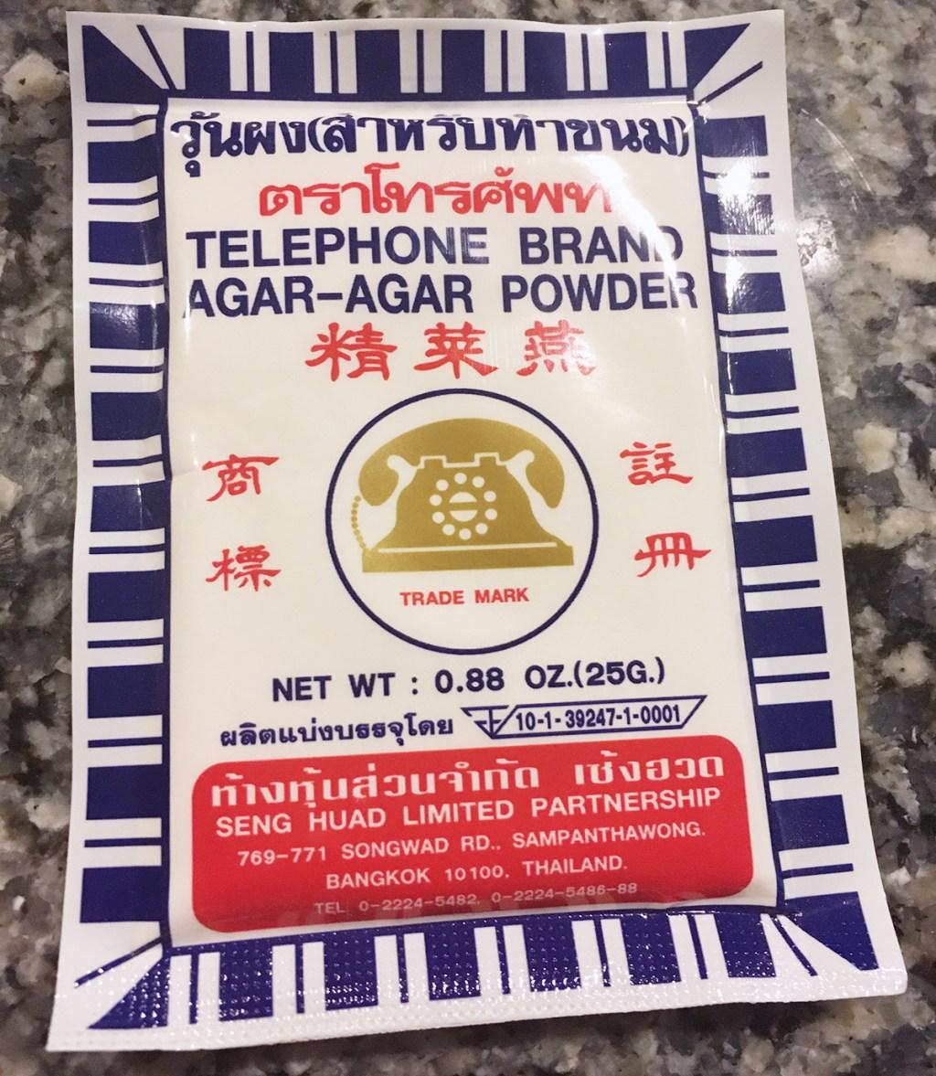 agar-agar powder from asian market