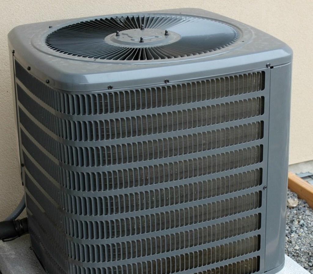 exterior AC unit
