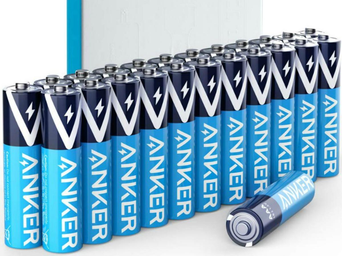 Anker AAA batteries