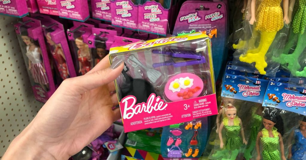 barbie dollar tree