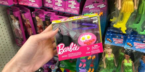 Barbie Accessory Sets Available at Dollar Tree