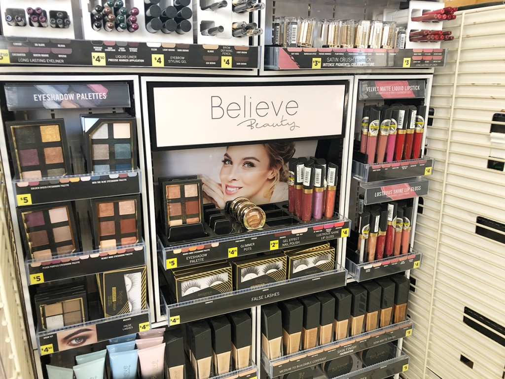 believe beauty section at dollar general